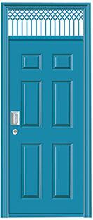 NJ-8853地下室门